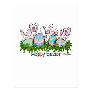 Tarjetas de felicitación de la caza del huevo de