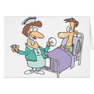 Tarjetas de felicitación de la enfermera y del