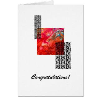 Tarjetas de felicitación de la enhorabuena