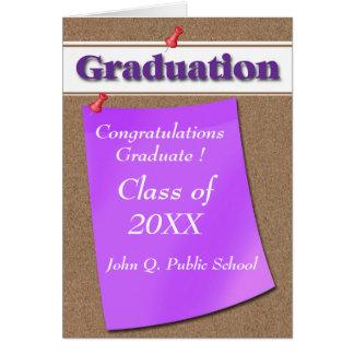 Tarjetas de felicitación de la graduación de