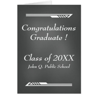 Tarjetas de felicitación de la graduación de la