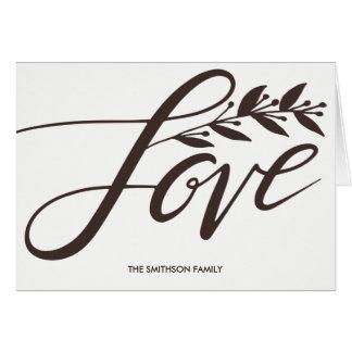 Tarjetas de felicitación del amor