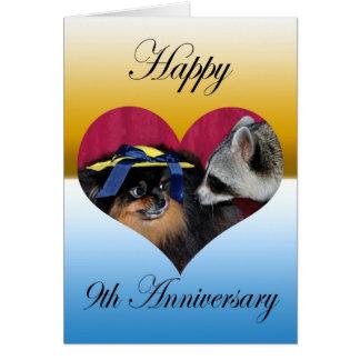 Tarjetas de felicitación del aniversario de boda