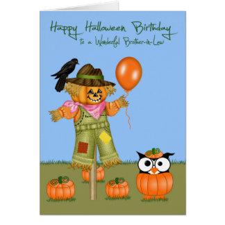 Tarjetas de felicitación del cuñado de Halloween