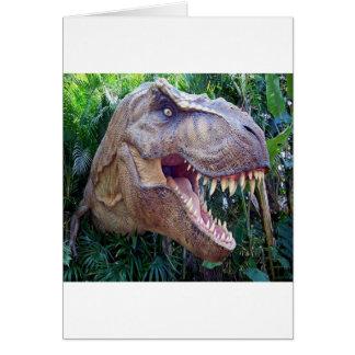 Tarjetas de felicitación del dinosaurio por días