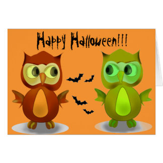 Tarjetas de felicitación del feliz Halloween