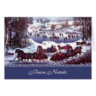 Tarjetas de felicitación del navidad de Buon