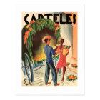 Tarjetas de invitaciones Vintage Cuba Carteles