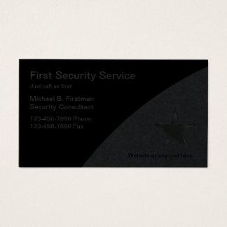 Tarjetas de la empresa de servicios de la