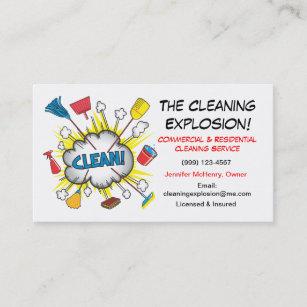 Tarjetas De La Empresa Servicios Limpieza