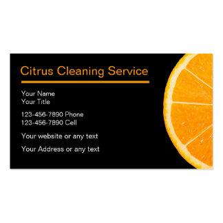 Tarjetas de la empresa de servicios de la limpieza tarjeta de negocio