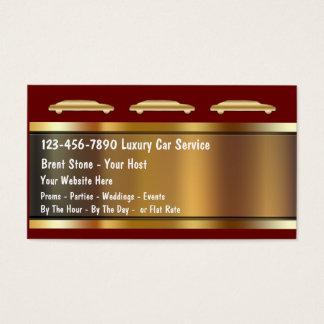 Tarjetas de la empresa de servicios del Limo