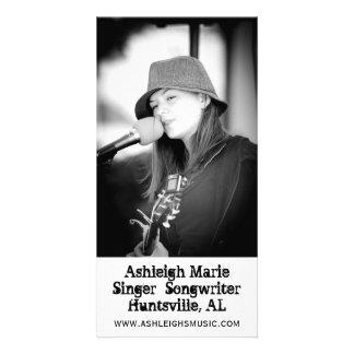 Tarjetas de la foto de Ashleigh Marie Tarjeta Personal