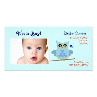 Tarjetas de la foto de la invitación del bebé del  tarjetas con fotos personalizadas