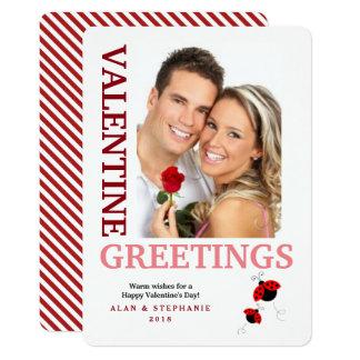 Tarjetas de la foto de los saludos de la tarjeta