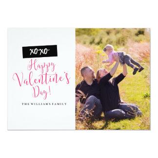 Tarjetas de la foto del el día de San Valentín de Invitación 12,7 X 17,8 Cm