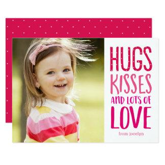 Tarjetas de la foto del el día de San Valentín del Invitación 12,7 X 17,8 Cm
