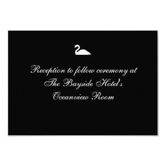 """""""Tarjetas de la recepción de la serenata del Invitación 8,9 X 12,7 Cm"""