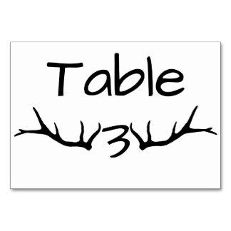 Tarjetas de la tabla del cuadro 3 de la asta