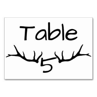 Tarjetas de la tabla del cuadro 5 de la asta