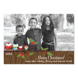 Tarjetas de la tarjeta de la foto del día de invitación 12,7 x 17,8 cm