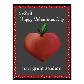 Tarjetas de la tarjeta del día de San Valentín del Invitación 10,8 X 13,9 Cm
