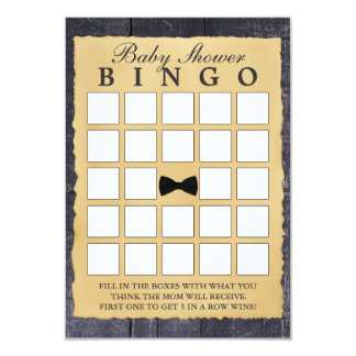 Tarjetas de madera del bingo de la fiesta de anuncios personalizados