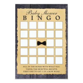 Tarjetas de madera del bingo de la fiesta de invitación 8,9 x 12,7 cm