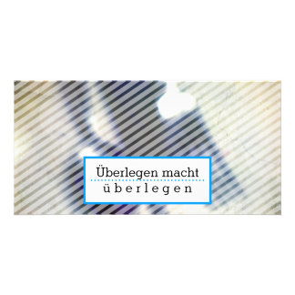 Tarjetas de motivación tarjeta fotografica personalizada