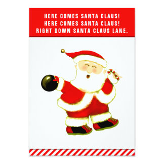 tarjetas de Navidad de los bolos