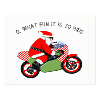 tarjetas de Navidad del motocrós