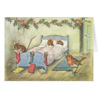 Tarjetas de Navidad del vintage