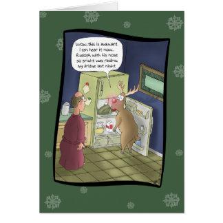 Tarjetas de Navidad divertidas: Ataque del