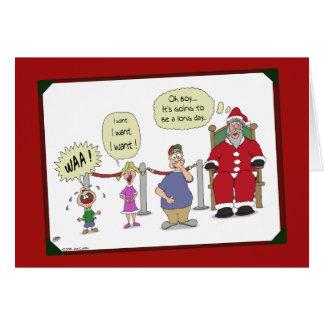 Tarjetas de Navidad divertidas: Día largo