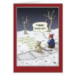 Tarjetas de Navidad divertidas: Flujo constante