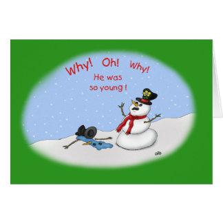 Tarjetas de Navidad divertidas: Fusión