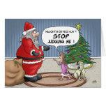 Tarjetas de Navidad divertidas: Pare el juzgar