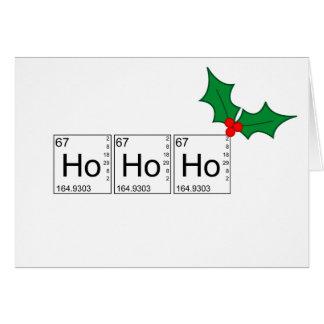 Tarjetas de Navidad - Ho Ho Ho