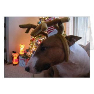 Tarjetas de Navidad lindas del perrito