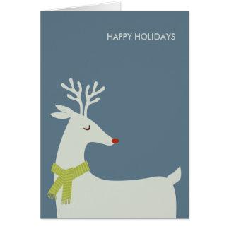 Tarjetas de Navidad modernas Tarjeta De Felicitación