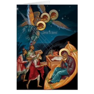 Tarjetas de Navidad ortodoxas
