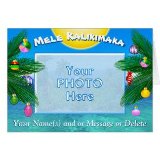 Tarjetas de Navidad personalizadas Kalikimaka de