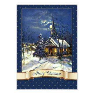 Tarjetas de Navidad religiosas del diseño de la Invitación 12,7 X 17,8 Cm