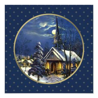 Tarjetas de Navidad religiosas del diseño de la Invitación 13,3 Cm X 13,3cm