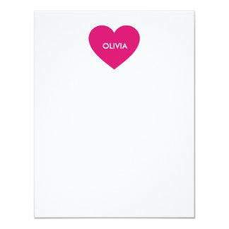 Tarjetas de nota de encargo del letrero del comunicados personalizados