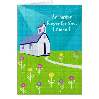 Tarjetas de pascua religiosas: Un rezo para usted