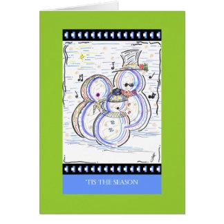 Tarjetas de PedagogyGreetings: ¡Dejáis le nevar
