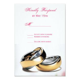 Tarjetas de RSVP de la bodas de plata de los Comunicados