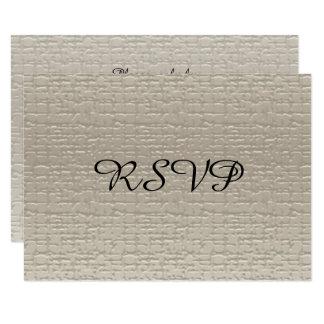Tarjetas de RSVP del aniversario de boda, Invitación 8,9 X 12,7 Cm