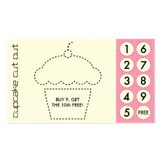 tarjetas de sacador cortadas magdalena tarjetas de visita